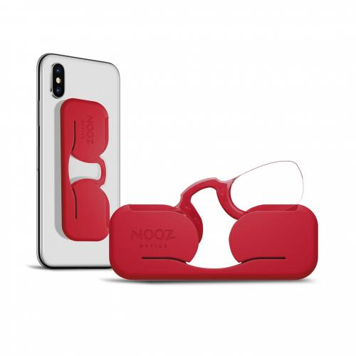 Nooz Smartphone Tomato | Reading Glasses - NOSECLIP READERS -