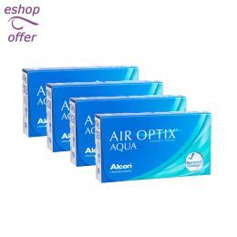 Air Optix Aqua 6pack - 4 κουτιά (36 φακοί)