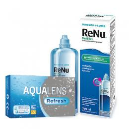 AquaLens Refresh (ζεύγος) & Renu Multiplus 360ml
