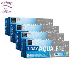 Aqualens Refresh One Day 30+10 - 4 κουτιά (160 φακοί)