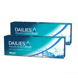 Dailies AquaComfort Plus 30pck - 2 κουτιά (60 φακοί)