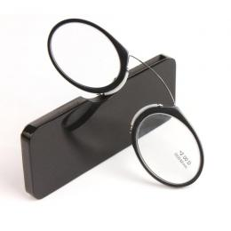Nose Clip Reading Glasses Black