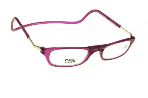 Clic Vision Frosted CRFR-V XL | Reading Glasses - CLIC READERS -